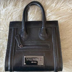 Valentino by Mario crossbody leather and suede bag